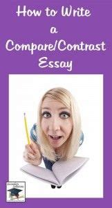 How to write a compare and contrast essay effectively
